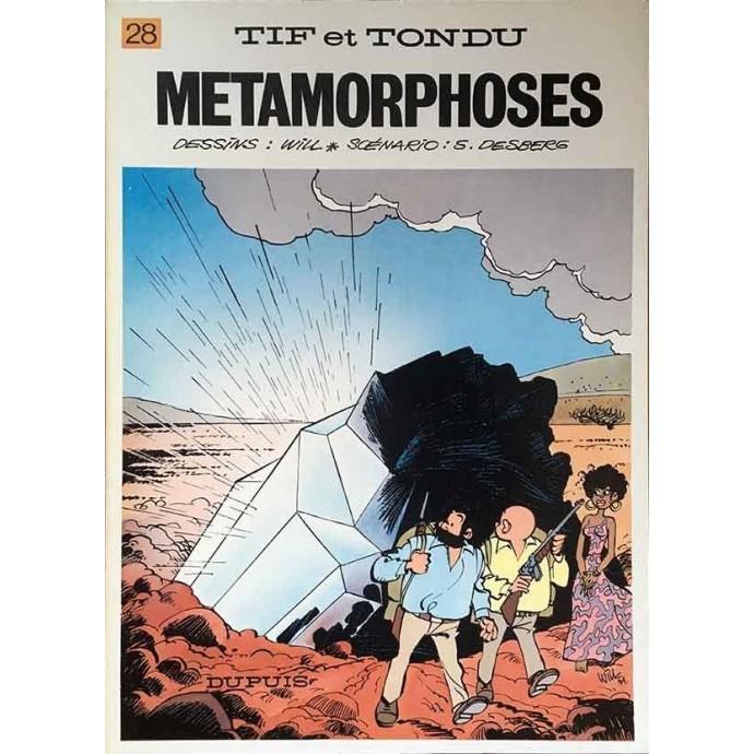 Tif et Tondu - Métamorphoses - EO 1980 - 1