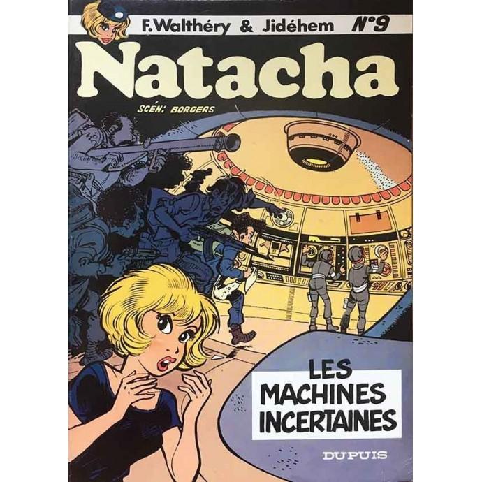 Natacha - Les machines incertaines - EO 1983 - 1