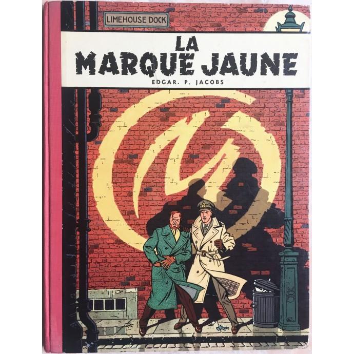 Blake et Mortimer La Marque Jaune Rééd. 1959