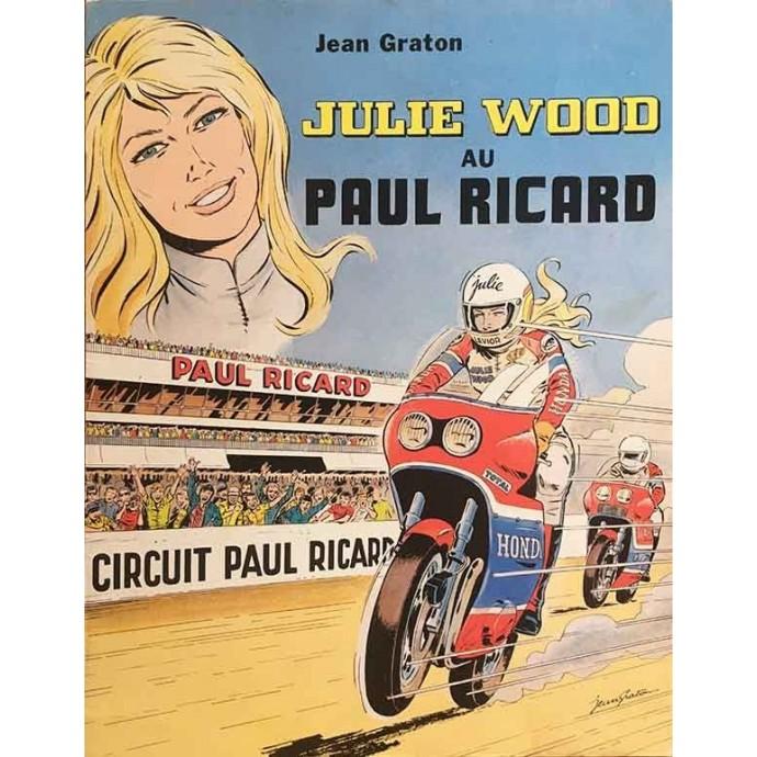 Julie Wood au Paul Ricard - EO 1980 - 1