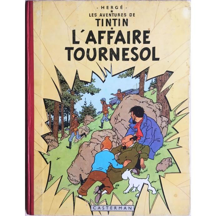 Tintin L'AffaireTournesol 1958