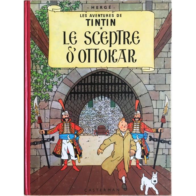 Tintin Le Sceptre d'Ottokar 1958