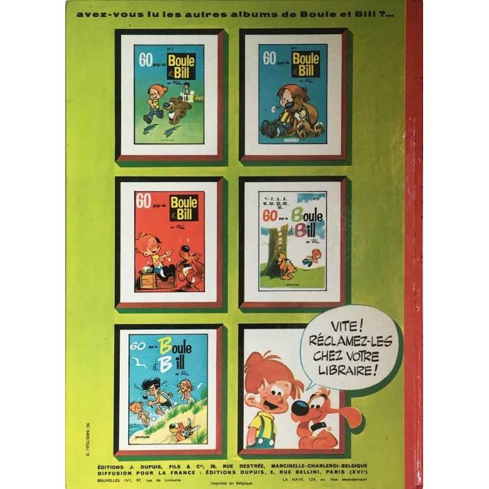 Boule et Bill - 60 gags de Boule et Bill n°6 - EO 1970 - 3