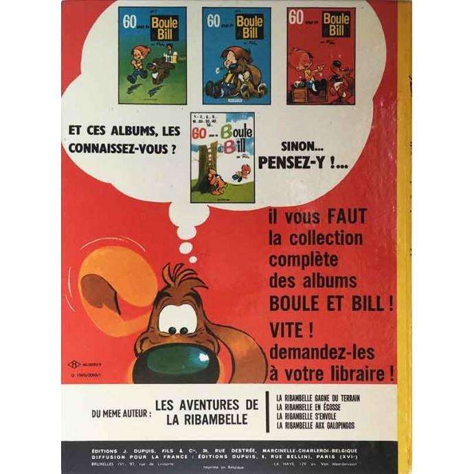 Boule et Bill - 60 gags de Boule et Bill n°5 - EO 1969 - 3