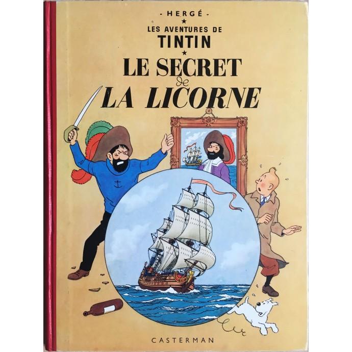 Tintin Le Secret de la Licorne 1957
