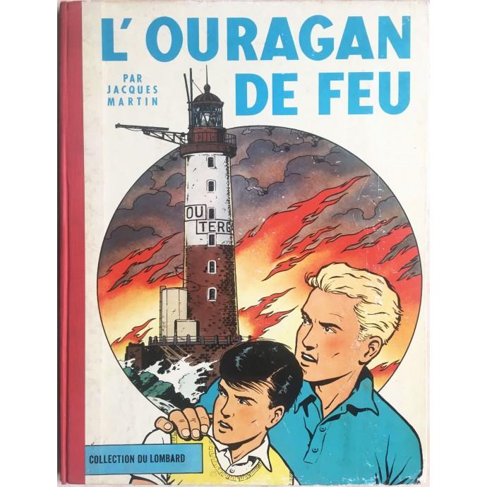 Lefranc - L'ouragan de feu - EO 1961 - 1