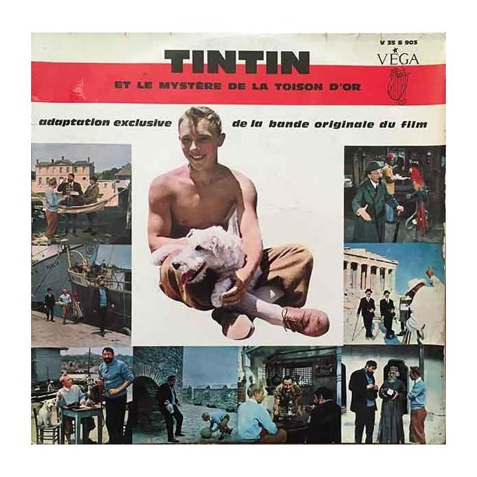 Tintin et le Mystère de la Toison d'Or - Disque vinyle 25cm/33 tours - 1