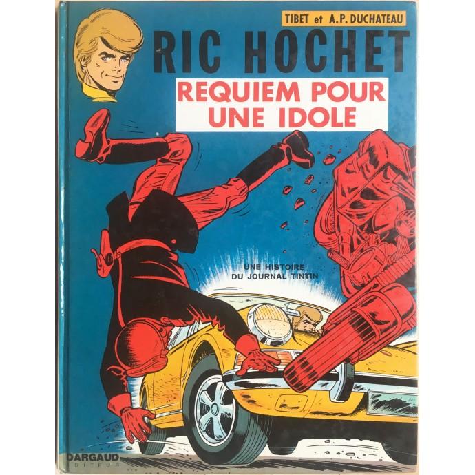 Ric Hochet Requiem pour une idole EO 1973
