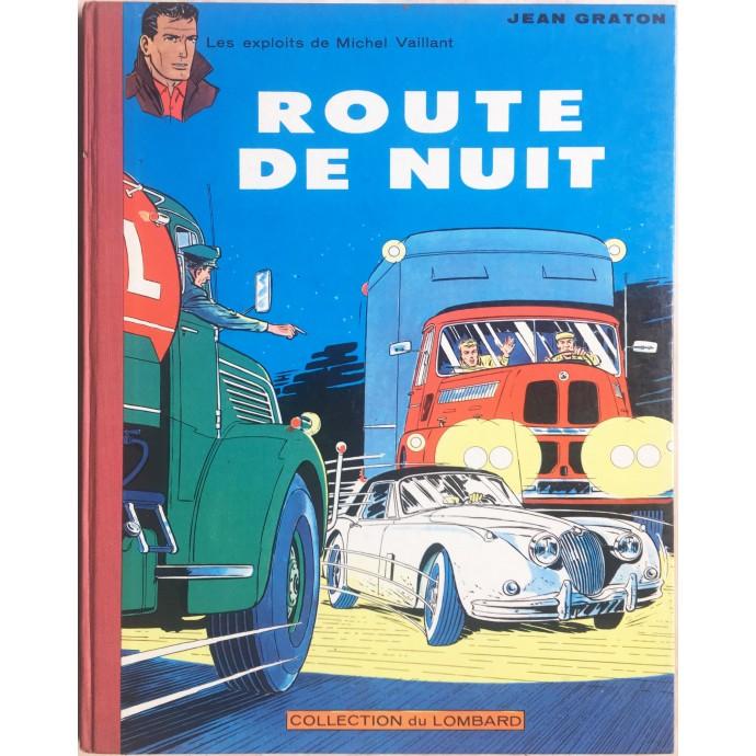 Michel VAILLANT Route de nuit 1962