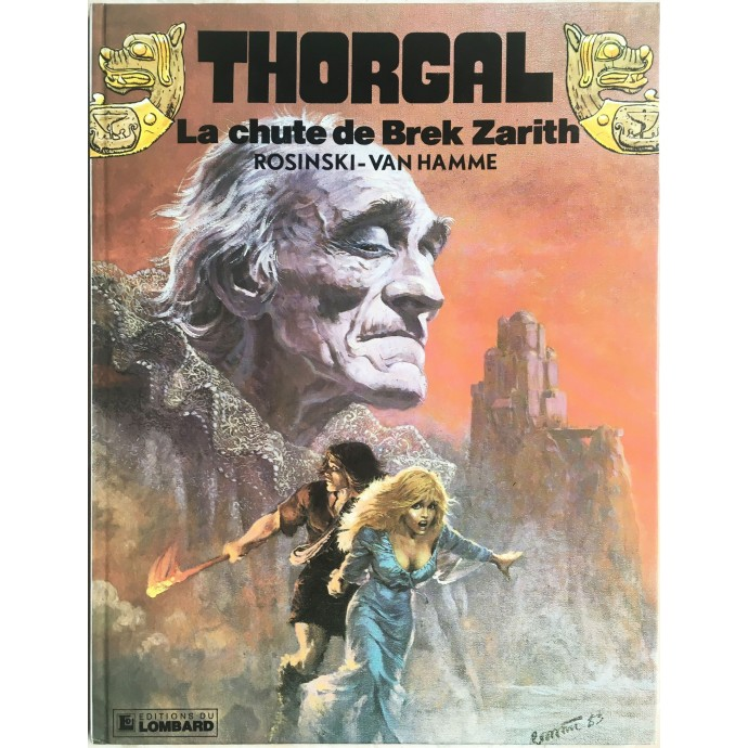 Thorgal La chute de Brek Zarith EO 1984