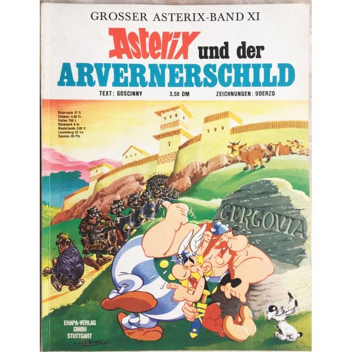 Asterix und der Arvernerschild 1972