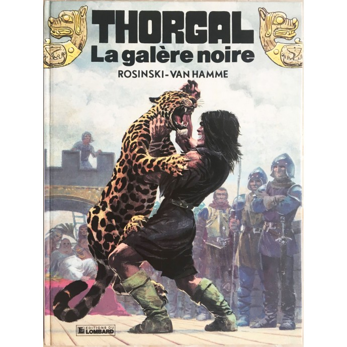 Thorgal La galère noire EO 1982