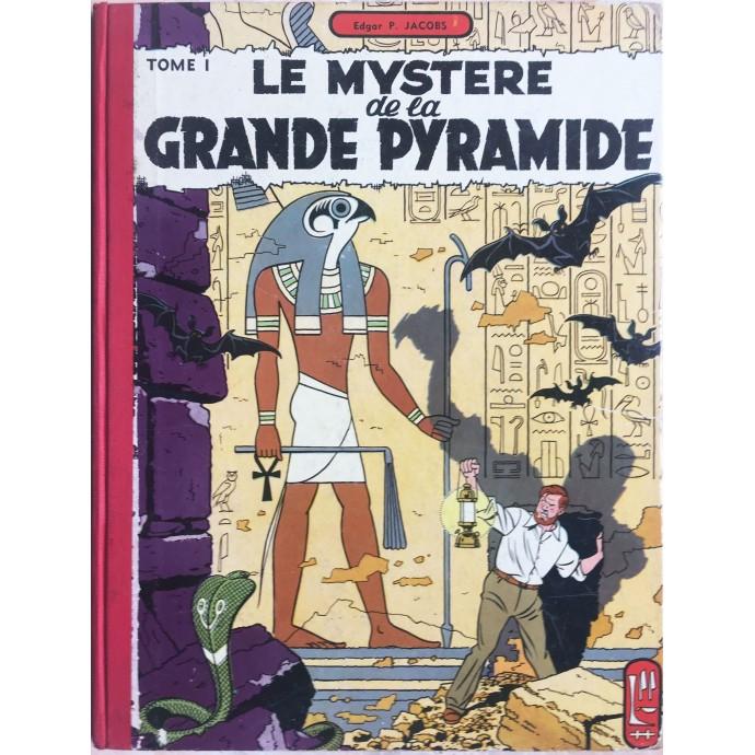 Blake et Mortimer Le Mystère de la Grande Pyramide T1 1956