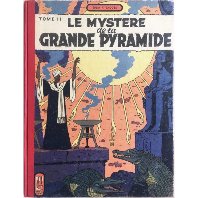 Blake et Mortimer Le Mystère de la Grande Pyramide T2 EO 1955