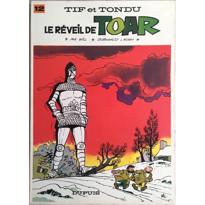Tif et Tondu Le Réveil de Toar EO 1968