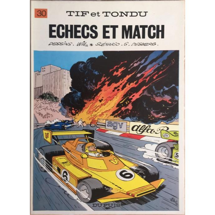 Tif et Tondu Echecs et Match EO 1982