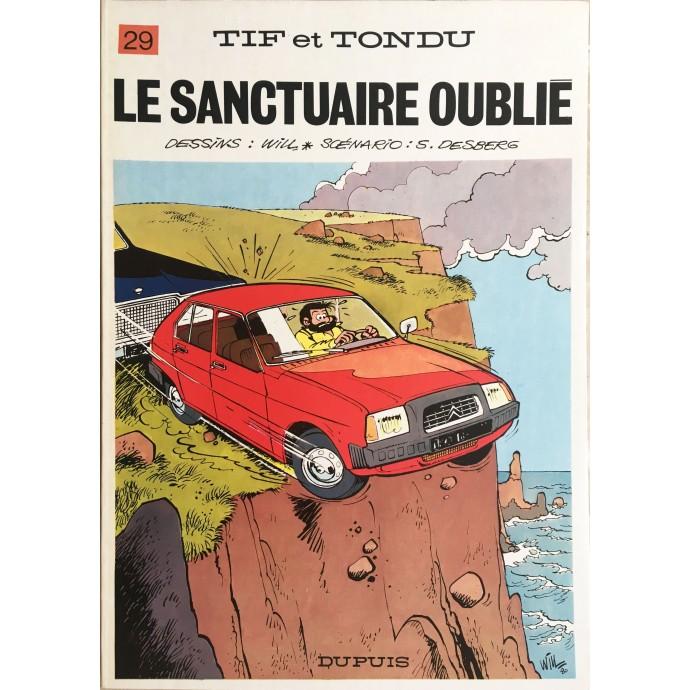 Tif et Tondu Le Sanctuaire oublié EO 1981