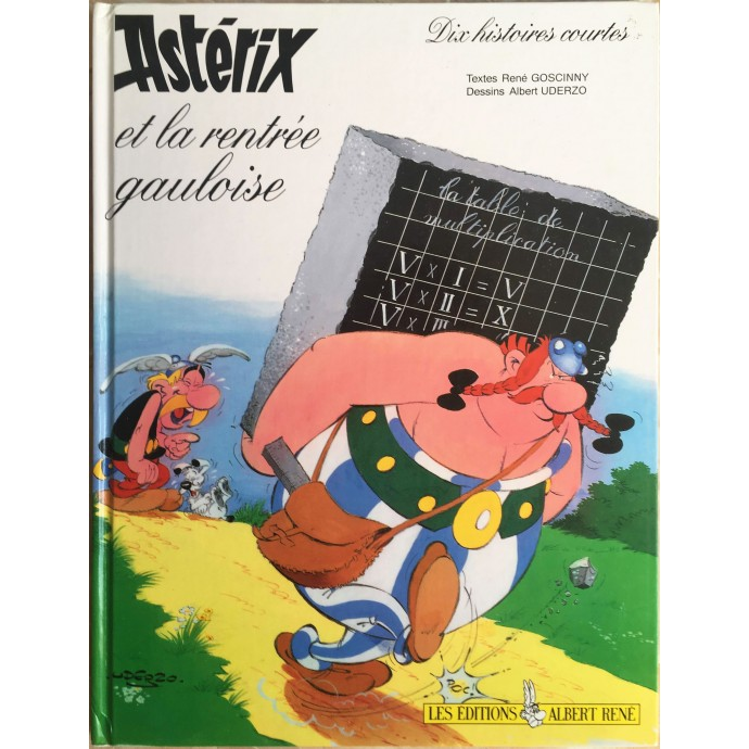 Astérix et la rentrée gauloise - EO 1993 - 1