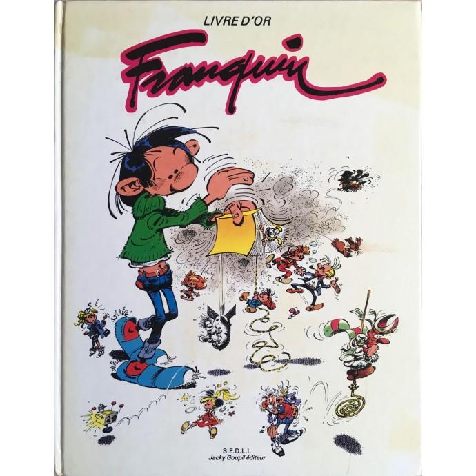 Franquin - Livre d'Or - EO 1982 - 1