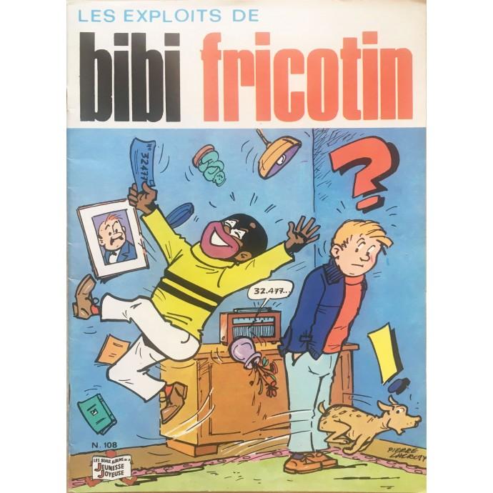 Bibi Fricotin Les exploits EO n°108 - 1