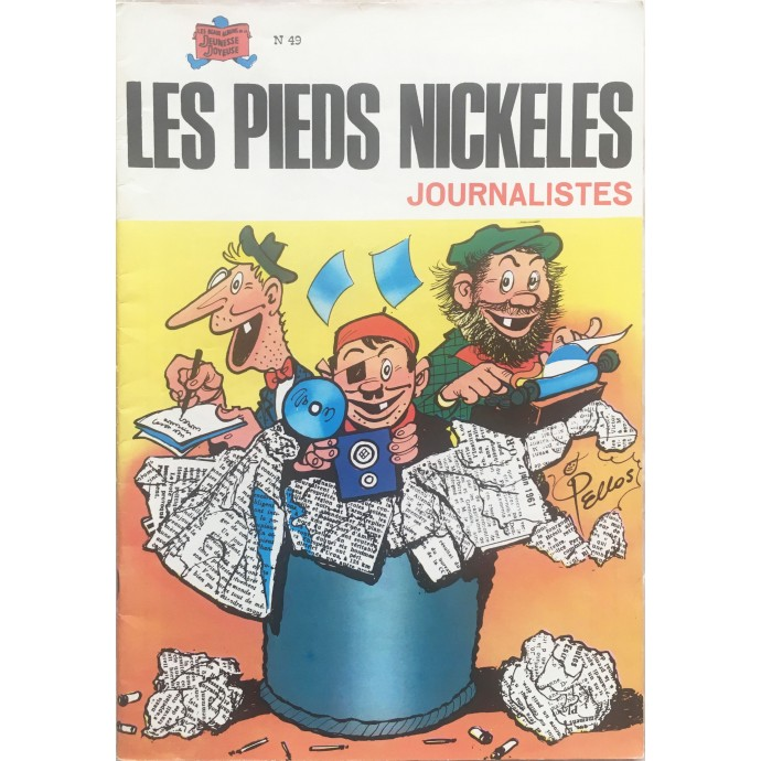 Pieds Nickelés (les) Journalistes n°49 - 1