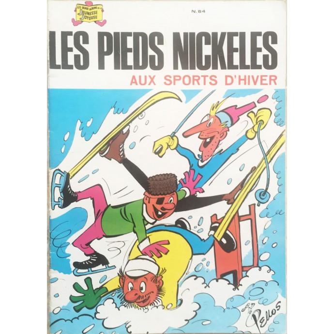 Pieds Nickelés (les) aux sports d'hiver n°64 - 1