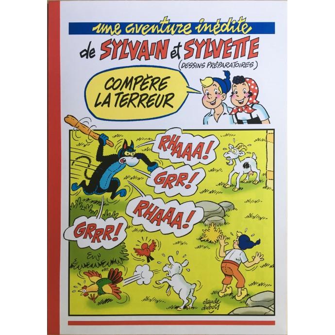 Sylvain et Sylvette - Compère  la Terreur - TL 2011 + Dédicace - 1