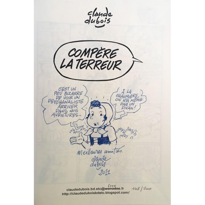 Sylvain et Sylvette - Compère  la Terreur - TL 2011 + Dédicace - 2