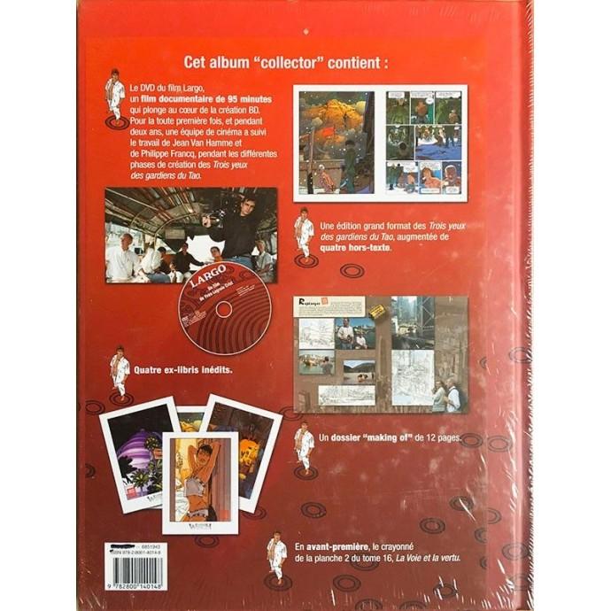 """Largo Winch - Les Trois yeux des Gardiens du Tao - Edition """"collector"""" 2007 avec DVD - 2"""