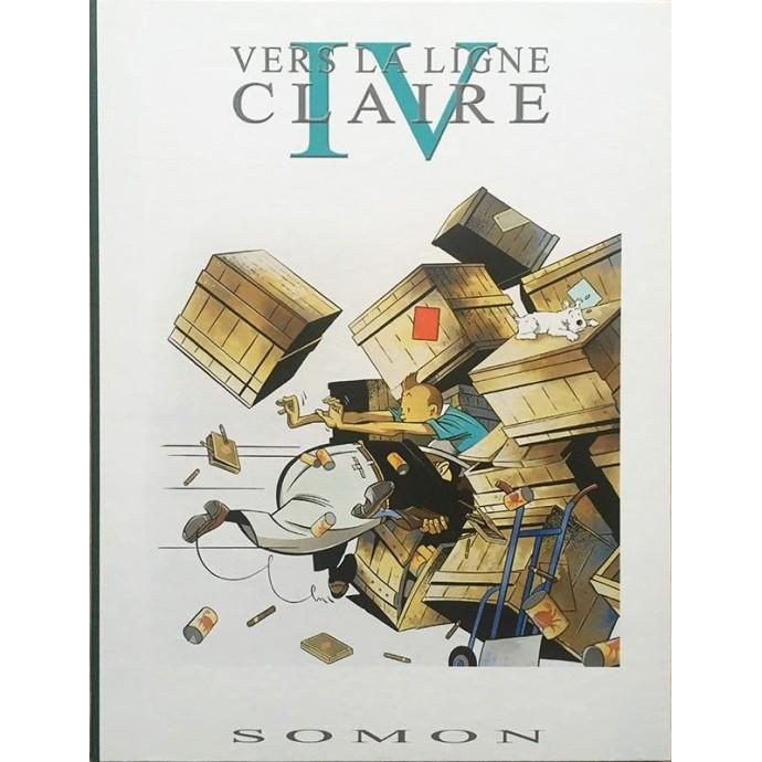 Somon - portfolio - IV Vers la ligne claire - 1