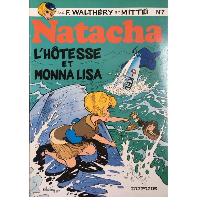 Natacha - L'Hôtesse et Monna Lisa - EO 1979 - 1