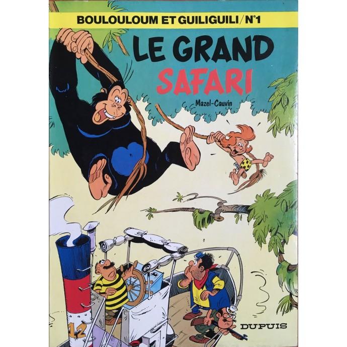 Boulouloum et Guiliguili - Le Grand Safari - EO 1979 - 1